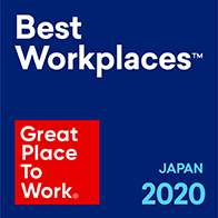 GREAT PLACE TO WORK Best Workplaces2020 Japan