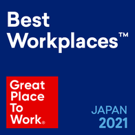 GREAT PLACE TO WORK Best Workplaces2021 Japan